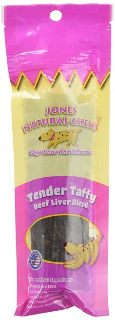 Jones Natural Chews Tender Taffy Beef Dog Treat ** See this great image  (This is an amazon affiliate link. I may earn commission from it)