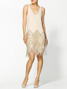 Love this flapper dress! Its perfect for holiday parties!