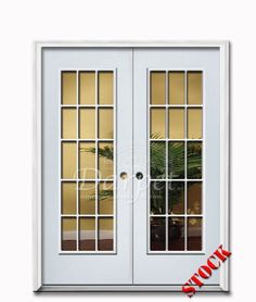 Steel Exterior Entry Doors Double Clear Gl Chicago