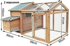 Chicken coops not only help provide a comfortable environment for your fowl but also provide shelter and a happy place for your chickens to be productive. A good chicken coop always starts with proper planning and the better you can d Walk In Chicken Coop, Cheap Chicken Coops, Chicken Barn, Chicken Coup, Backyard Chicken Coops, Chicken Coop Plans, Building A Chicken Coop, Building A Shed, Chickens Backyard