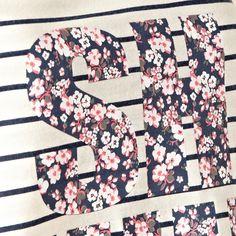 Presence Navy striped Shhh vest and pyjama bottoms- at Debenhams.com Jersey Tops, Id Design, Fashion Details, Fashion Design, Debenhams, Ditsy, Navy Stripes, Pjs, Nightwear