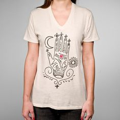 Fortunes Told Tee Unisex Natural now featured on Fab.
