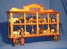 19th century European Wooden Toy.