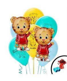 Boys Daniel Tiger Jumbo Balloon Bouquet - Multi-colored