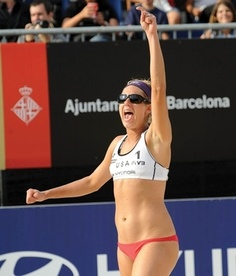 Real inspiration — athletes, not models: April Ross: Beach Volleyball