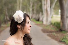 Amaya Tocados Blog: Base lagrima y bouquet, ideal para novias