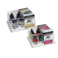 Must try - FW Acrylic Inks Sets 6x29.5 ml