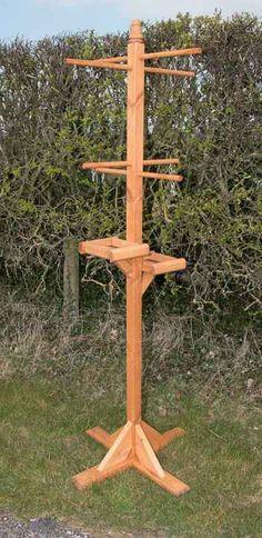 Bird Feeding Station XL Deluxe Rverside Woodcraft More - Fresh Gardening Ideas
