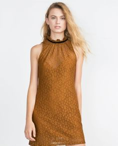 ZARA - COLLECTION AW15 - LACE DRESS