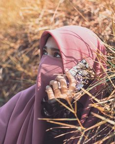 Hijab Niqab, Hijab Chic, Hijab Outfit, Muslim Girls, Muslim Women, Face Veil, Muslim Beauty, Islamic Girl, Hijabi Girl