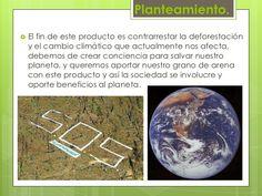Planteamiento.<br />El fin de este producto es contrarrestar la deforestación y el cambio climático que actualmente nos af...