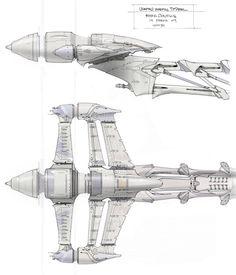 Star Wars III, Ryan Church Concept Art, RyanChurch.com