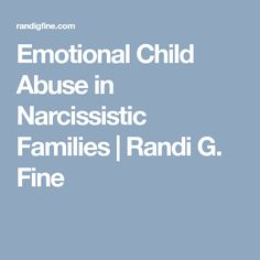 emotional child abuse The paper includes an overview of current research investigating aspects of emotional abuse: specifically, children's witnessing of spousal violence the use of emotional abuse in the minimisation of abusive concerns and emotional abuse in the context of systems abuse.