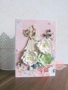 Kartka na ślub - z Młodą Parą
