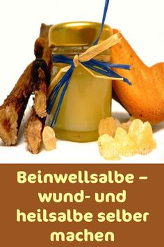 Beinwellsalbe – wund- und heilsalbe selber machen Fittness, Make Your Own, Make It Yourself, Home Recipes, The Creator, Skin Care, Breakfast, Food, Health And Wellbeing