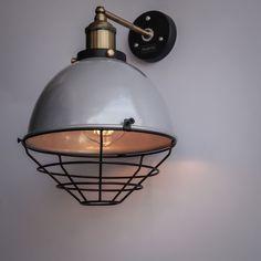 industrial decor wall lamp