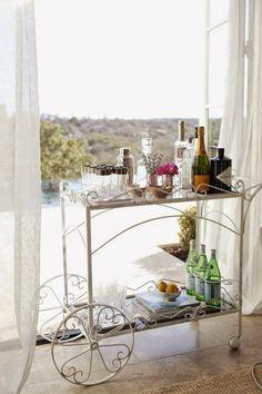 20 Carrinhos de chá para as bebidas ~ Decoração e Ideias - casa e jardim