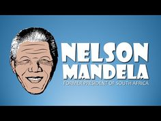 Nelson Mandela for Kids! After 27 years in prison Nelson Mandela becomes President of South Africa - YouTube