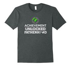 Daddy Gamer Gift Dad To Be New T-Shirt | First Father's Day
