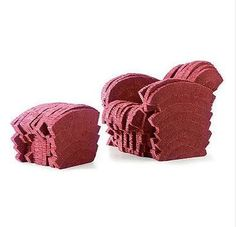 Red Beaver Armchair by Frank Gehry: Made of dyed corrugated cardboard.