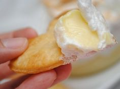 Lemon Meringue Dip used with 7-up Pie Crust Dippers  *don't know what a 7-Up Pie Crust Dipper is, and that recipe is not included...but the lemon dip sounds great.  so, now i must go find the dipper recipe.  *found it and pinned it. *made it and loved it.