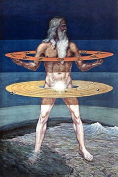 Man, symbol of mysteries