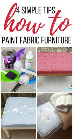 A Painted Upholstery Mistake & My Easy Tips to Fix It | Arts and Classy