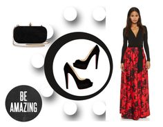 """""""Untitled #25"""" by medznun-lejla ❤ liked on Polyvore featuring Diane Von Furstenberg and Christian Louboutin"""