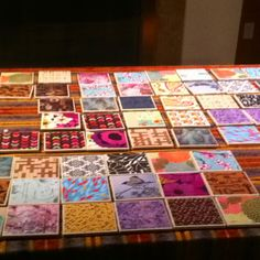 """Coasters coasters coasters - craft idea create """"coasters"""" with tiles, modpodge,  scrapbook paper, and if you want add a picture.  (To waterproof them be sure to use acrylic spray or polyurethane  after kids modpodge/glue)"""