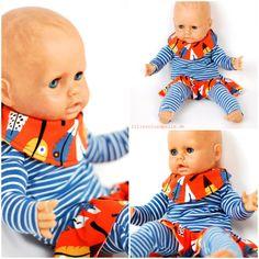 Schnittmuster an Puppengrößen anpassen