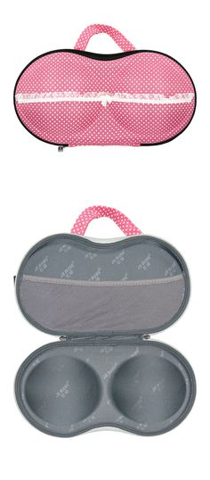 Bra Travel Case - not sure if I'd use this but it is cute
