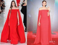 Nong Poy In Ralph Lauren - 33rd Hong Kong Film Awards 4/13/14, Lupita Nyong'o wore it to the Golden Globes