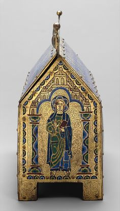 Chasse with Christ in Majesty and the Lamb of God  Date:     ca. 1180–90 Geography:     Made in Limoges, France Culture:     French