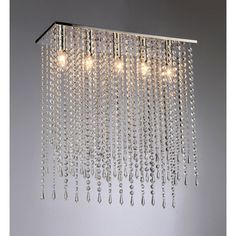 Absolutely eye-catching, the Warehouse of Tiffany Cleave Chandelier showcases nothing but elegance in your home. Raindrops of crystals. Tiffany Chandelier, Chandelier Shades, Chandelier Lighting, Bubble Chandelier, Contemporary Chandelier, Lighting Store, Wow Products, Innovation Design, Polished Chrome