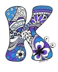 Image result for zentangle letters