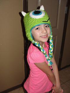 Mike Wazowski Crochet - Monsters Inc.