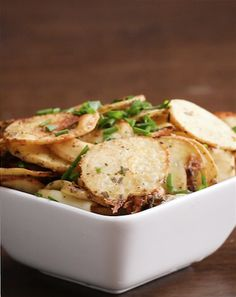Cool Ranch Chips | Baked Potato Chips 4-Ways