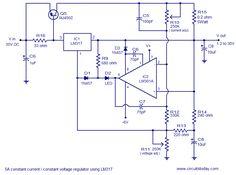 Few Voltage regulator circuits that has a lot of applications Dc Circuit, Circuit Design, Circuit Diagram, Robotics Engineering, Electronic Engineering, Electrical Engineering, Diy Electronics, Electronics Projects, Peterbilt