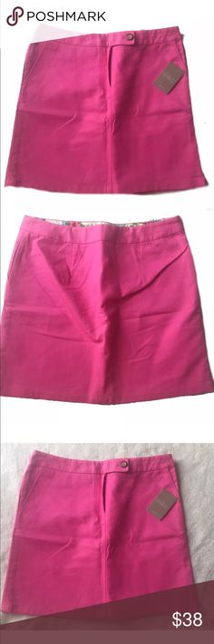 Anthropologie pink rose skirt Vanessa Virginia 8 Size 8 Skirt 100% Cotton Skirts Midi