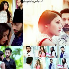 The way he stares at her  #ishqbaaaz