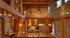 Warm Cedar Wood Paneling
