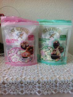 Yummy! Mini marshmallows, voor op cupcakes, koekjes of juist lekker op je drinken! Bij de Action voor maar €0,69  ❤️