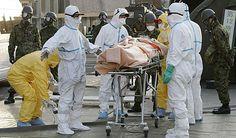 60. 12th April: the Fukushima event is officially raised to INES level 7. / El 12 de abril, el accidente de Fukushima se eleva oficialmente al nivel 7 en la escala INES.