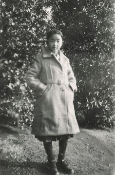 山本悍右の妹 山本貞江像 昭和8年(大正6年-昭和9年 1917-1934) Portrait of Sadae Yamamoto, 1933.