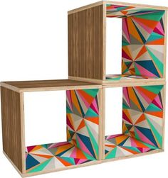 "Carrico Collins Ave 15"" Cube Unit Bookcase"