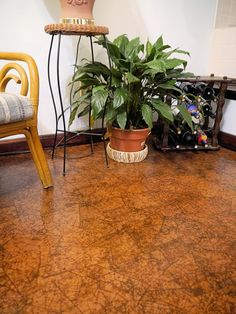 Some of you have inquired about using different types of paper in the brown paper flooring treatment I've done throughout my upstairs. I have only used the brown contractor's paper (fou…