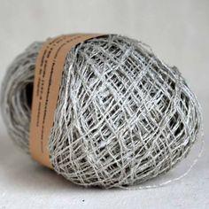 Habu N-63 kibiso silk: #115 light gray