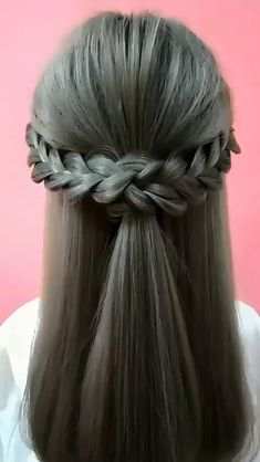 Easy Hairstyles For Long Hair, Cute Hairstyles, Hairstyles Videos, Beautiful Hairstyles, Party Hairstyles, Simple Hairstyle Video, Simple Braided Hairstyles, Elvish Hairstyles, Mermaid Hairstyles