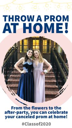 Tips, ideas and resources to plan a high school prom at home for your class of 2020 senior! Their school prom was canceled but they can still have an awesome night to remember! Homecoming Dance, Senior Prom, Senior Guys, Cheerleading Cheers, Cheer Stunts, Bridesmaid Dresses, Prom Dresses, Wedding Dresses, Teen Prom