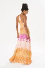 vestido longo alcinha nova marau